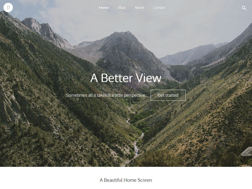 Perspective - responsive theme for Boombox CMS
